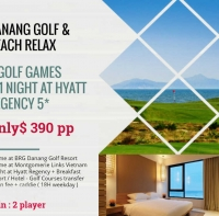 Danang Golf & Beach Relax From US$ 390