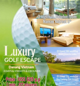 Danang Luxury Golf Escape From US$ 625