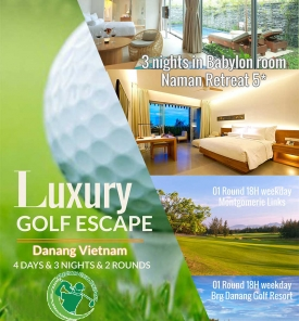 Danang Luxury Golf Escape From US$ 710
