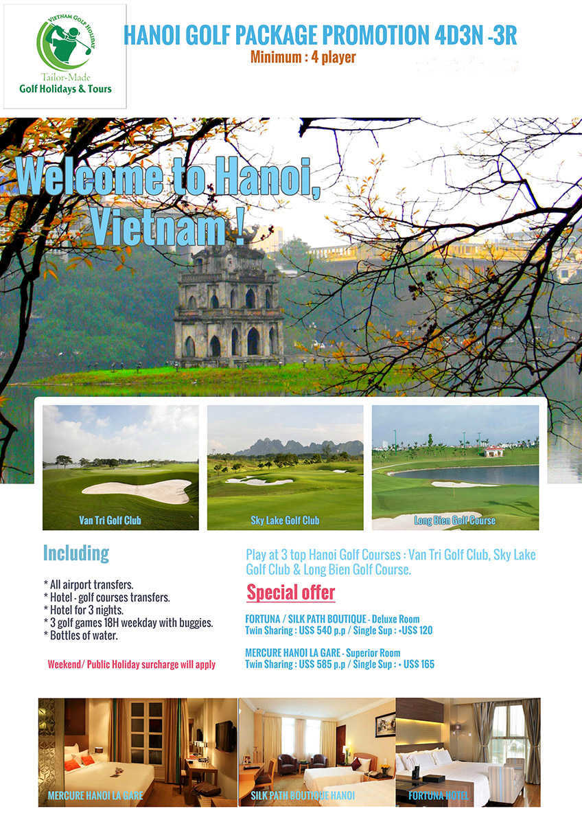 Hanoi Golf Promotion
