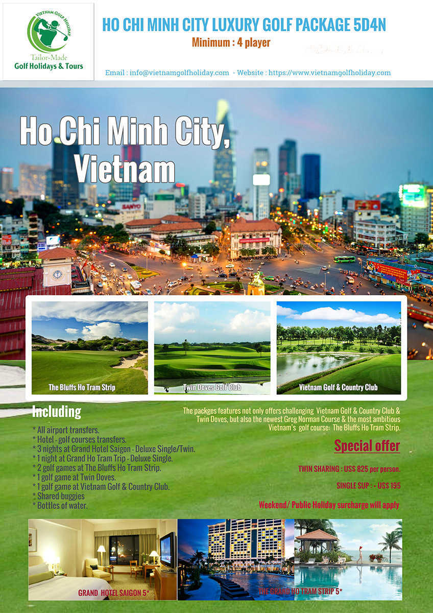 Saigon Luxury Golf Package